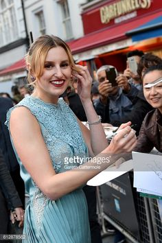 Actors Then And Now, Laura Carmichael, Downton Abbey, Formal Dresses, Fashion, Dresses For Formal, Moda, Formal Gowns, Fashion Styles