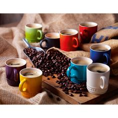 Le creuset espresso cups!! I need these, and an espresso machine.