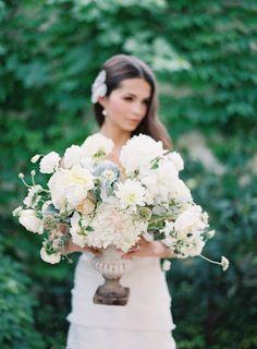Lush floral centerpiece | Wedding inspiration at San Juan Capistrano by @naomivgoodman | Kurt Boomer Photography