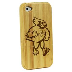 Iowa State University Cyclones - Bamboo Case for iPhone® 4/4S: Electronics