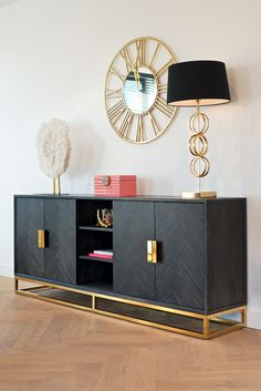 Living Room Credenza, Upscale Furniture, Interior, Living Room Console, Home, Home Furniture, Bedroom Interior, House Interior, Credenza Decor