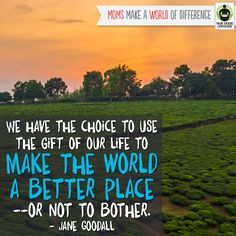 Remember: little things add up! Put love into every choice you make. http://BeFair.org/ #FairTrade #FairMoms #inspirationalquote #quotes