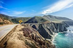 The 12 Most Fun Stretches of Road in America - California Highway 1