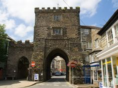 South Gate Arch. Launceston Cornwall, England. http://www.launceston-tc.gov.uk/Southgate-Arch.aspx