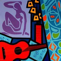 Homage To Matisse II