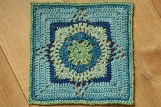 "Pineapple Blossom square 12"" (pattern)"