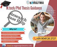 34 Best M Tech/PhD Thesis Help in Chandigarh Ludhiana, Jalandhar