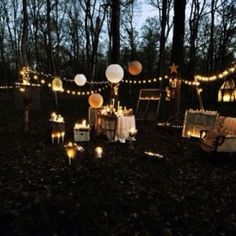 Like this but not in woods on grass more light and more couches and stuff!