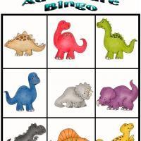 Dino Adventure Bingo 5