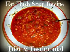 Women's Health Fat Flush Soup Diet    ** works well as a detox week!