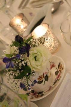 Beautiful Winter Wedding Day at Singleton Lodge for Amanda & Peter Afternoon Tea Wedding, Wedding Flowers, Wedding Day, Flower Designs, Amanda, Table Decorations, Winter, Beautiful, Vintage