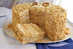 """Торт """"Пизанская башня"""" - Кулинарные рецепты"""