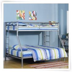 Dorel Home Ambrose Twin over Full Bunk Bed