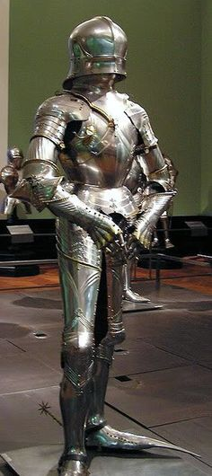 1480 Vienna, Austria, Kunsthistorisches Museum, A.60, armour of Archduke Maximillian I.