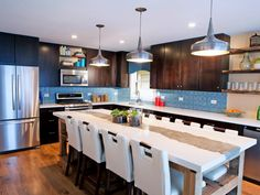 Pictures of Kitchen Chairs and Stools: Seating Option Ideas | Kitchen Ideas & Design with Cabinets, Islands, Backsplashes | HGTV