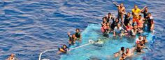 Flüchtlinge vor Libyen in Seenot
