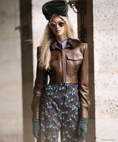 Anna Martynova for S Style & Fashion Canada - Schiaparelli Haute Couture