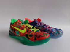 "Nike Kobe VIII 8 SYSTEM Premium ""What the Kobe"" Sale Online"