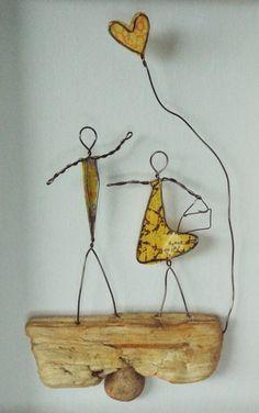 Wire Art: Driftwood, Wire & Paper...