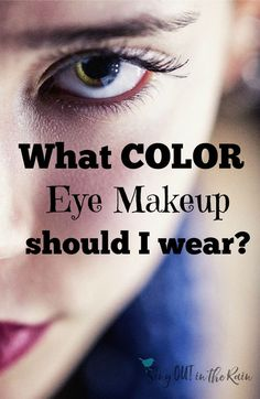 Everyday women wonder if their eyemakeup looks natural enough or bold enough.  This simple post provides gorgeous pictures using EYE COLOR to help you determine which colors will look the best on you!  Ideas