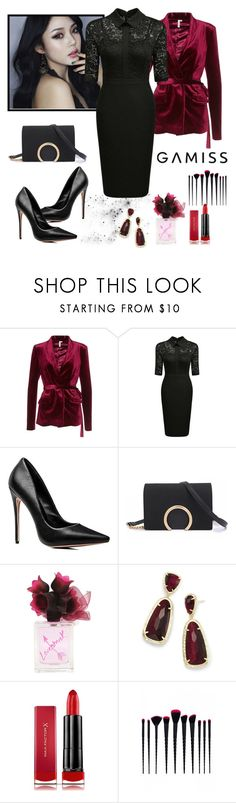 """Untitled #305"" by ilove-804 ❤ liked on Polyvore featuring Kendra Scott, Max Factor, contest, dress, party and gamiss"