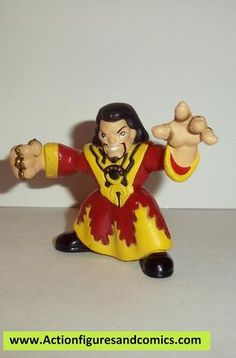 Marvel Super Hero Squad MANDARIN red iron man complete pvc action figures