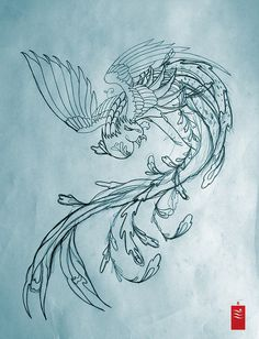 Phoenix Tattoo Preparation by yoso tattoo (www.yoso.eu), via Flickr