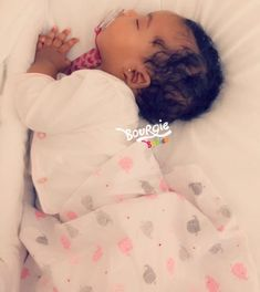 Sleep Well & Thanks 4 Stopping By! Cute Mixed Babies, Cute Black Babies, Beautiful Black Babies, Cute Little Baby, Pretty Baby, Little Babies, Cute Babies, Baby Kids, Mix Baby Girl