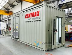 Shipping Container equipment enclosure Container Conversions