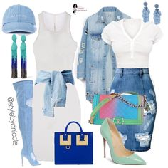 Best Spring Outfits Casual Part 9 Denim Fashion, Cute Fashion, Fashion Looks, Fashion Outfits, Womens Fashion, High Fashion, Girly Outfits, Classy Outfits, Stylish Outfits