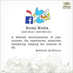 Simple and Fun Definition of Social Media.