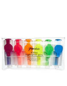 Paperchase Mini Highlighter Pen Pack