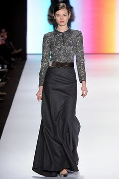 Fall Winter 2011/2012 Ready-To-Wear - New York // Carolina Herrera