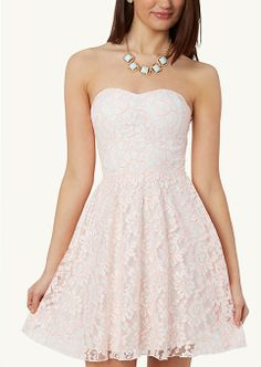 Neon Lace Tube Dress | Dresses | rue21... graduation
