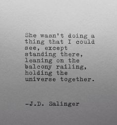 Salinger. <3