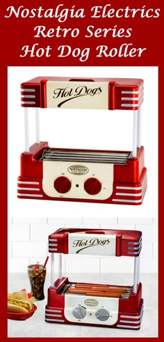 NOSTALGIA ELECTRICS RETRO SERIES HOT DOG ROLER #Nostalgia #Retro #Hot_Dog_Roller #hot_dog #food #home #kichen #Hot_Dog_steamer #Vintage  #1950s #50s #kitchen #accessories #appliances #gadgets #cool #red #colors #colorful #red_gadgets #red_appliances #small_appliances #cute_appliances #cute #red #stripes #striped #home #home_and_kitchen #home_decor #retro #old_fashioned