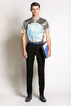 Jonathan Saunders | Spring 2014 Menswear Collection | Style.com