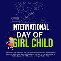 Customize this design with your video, photos and text. Easy to use online tools with thousands of stock photos, clipart and effects. Free downloads, great for printing and sharing online. Instagram Post. Tags: international day of girl child, international day of girl child flyer, international day of girl child poster, national girl child, national girl child poster, Event Flyers, Memorial Day , Memorial Day Event Flyers, Share Online, International Day, Kids Poster, Poster Designs, Free Downloads, First Girl, Flyer Template, Memorial Day