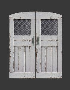 Pantry+Doors,+Chicken+Wire.jpg (1236×1600)