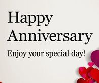 Special Day Happy Anniversary Anniversary Poems, Happy Anniversary Cards, Anniversary Pictures, Facebook Image, For Facebook, Special Day, Psalms, Twitter, Photos