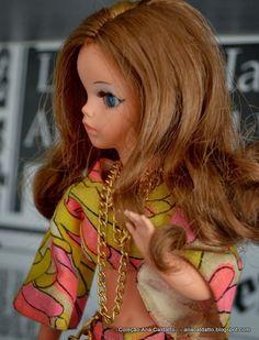 Boneca Susi cabelo com Mecha 1970