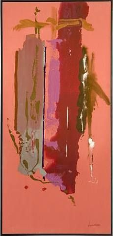 "Helen Frankenthaler, ""Landfall,"" has an interesting color palette. Helen Frankenthaler, Arthur Dove, Willem De Kooning, Abstract Expressionism, Abstract Art, Abstract Paintings, Oil Paintings, Jackson Pollock, Robert Motherwell"