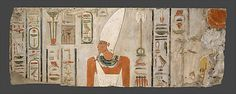 Block from the Sanctuary in the Temple of Mentuhotep II at Deir el-Bahri  Date: ca. 2010–2000 B.C.  Accession Number: 07.230.2