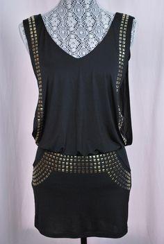 Black & Gold Minidress - $40 #closet #Fashion #Clothing #Threadflip #Trending #tastemaker #shop