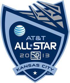 MLS All-Star Game Soccer Primary Logo (2013) - 2013 MLS All-Star Game held at Sporting Park in Kansas City, Kansas