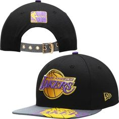 Era Los Angeles Lakers Black Foil Pop Original Fit Adjustable Hat for sale online New Era Hats, Funny Sweaters, Hats For Sale, Cheap Hoodies, Discount Beauty, Los Angeles Lakers, Red Shirt, Caps Hats