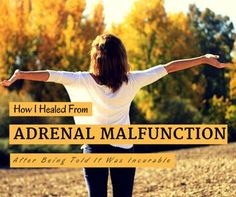 How I Healed Adrenal Malfunction After Being Told It Was Incurable  |  Narcissism Recovery and Relationships Blog