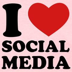 I HEART SOCIAL MEDIA    via buzzom.com