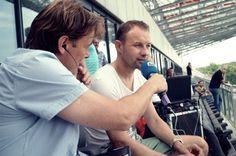 Jacek Dąbrowski i Tomasz Frankowski