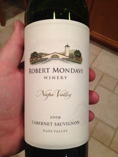 The 2009 Robert Mondavi Cabernet Sauvignon from Napa.  Very drinkable for a $20 bottle, with decent fruit up front and a medium, non-tannic finish.  $ / +